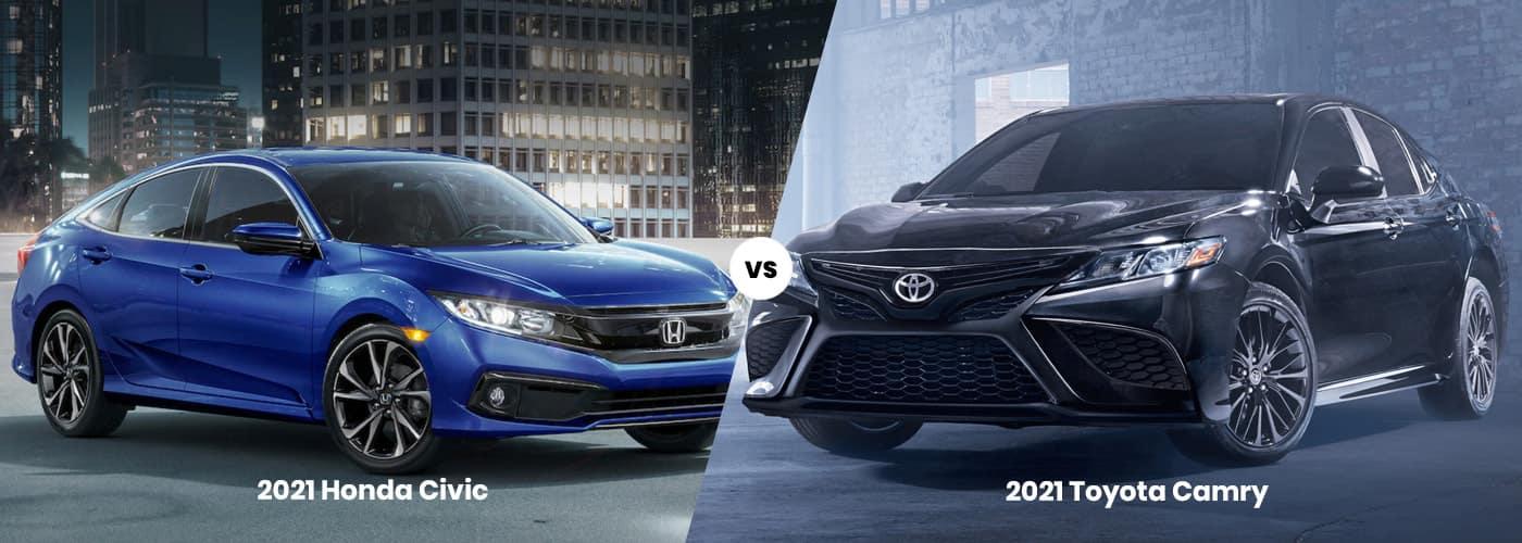 Honda Civic vs. Toyota Camry