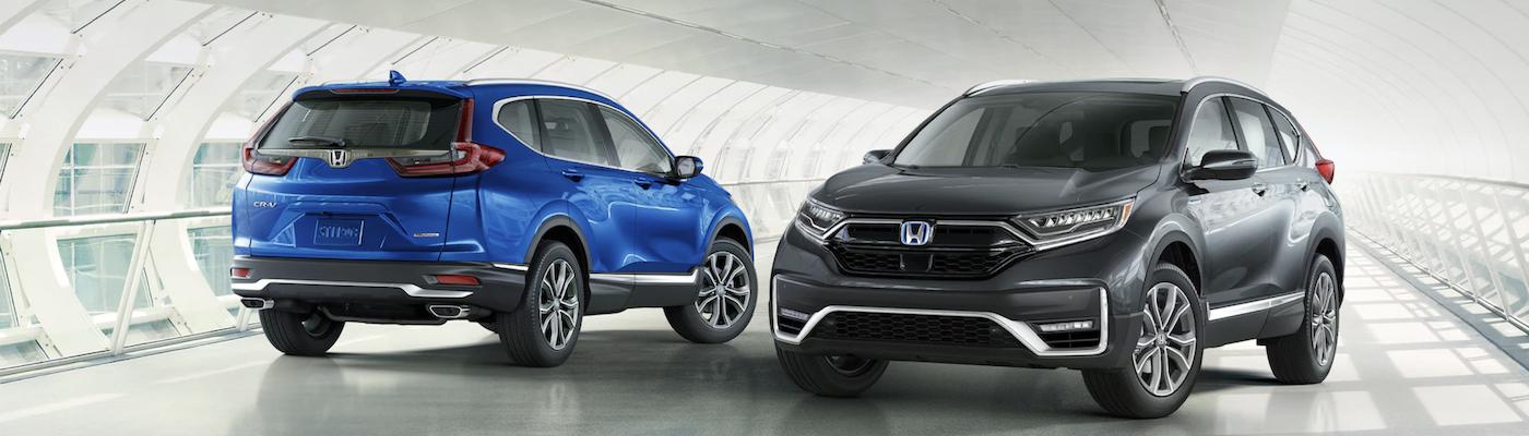Honda CR-V Blue and Black
