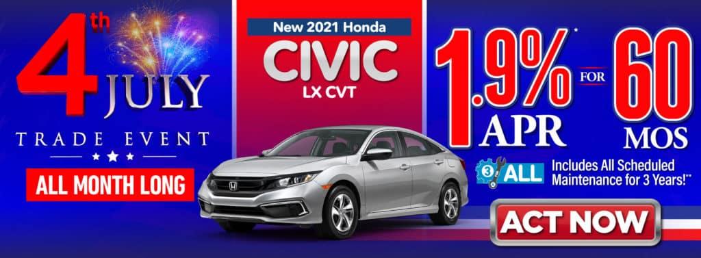 2021 Honda Civic LX CVT