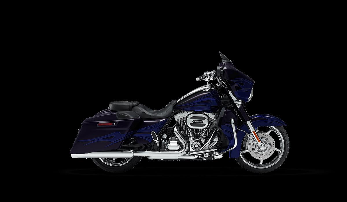 2016 CVO Street Glide black blue