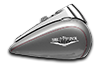 2016 Road King billet silver