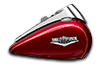 2016 Road King sunglo red
