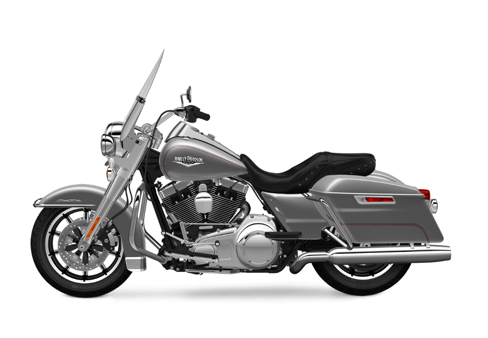 2017 Road King in Billet SIlver