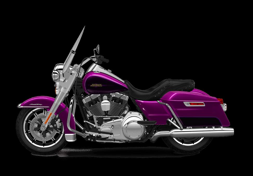 2017 Road King in Purple Fire