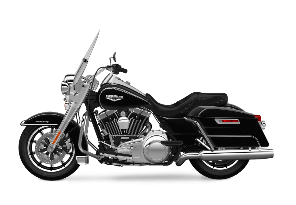 2017 Road King in Vivid Black