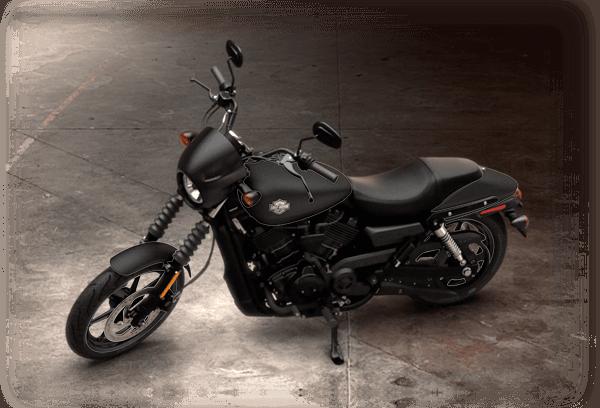 2016 Street 500 black denim