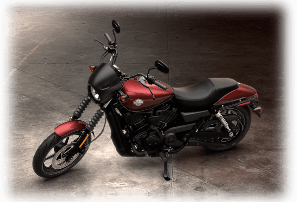 2016 Street 500 sunglo red