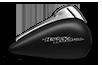 2017 Street Glide matte black