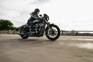 iron 883 on the road