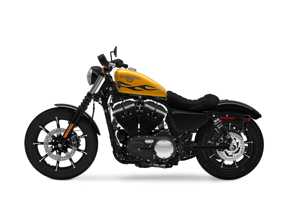 Iron 883 yellow