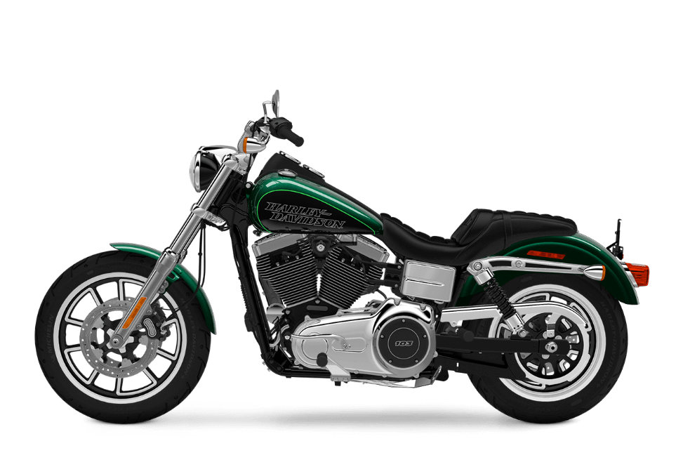 2016 Low Rider green