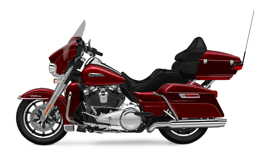 Electra Glide Ultra Classic red