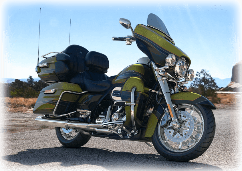 2017 cvo limited green
