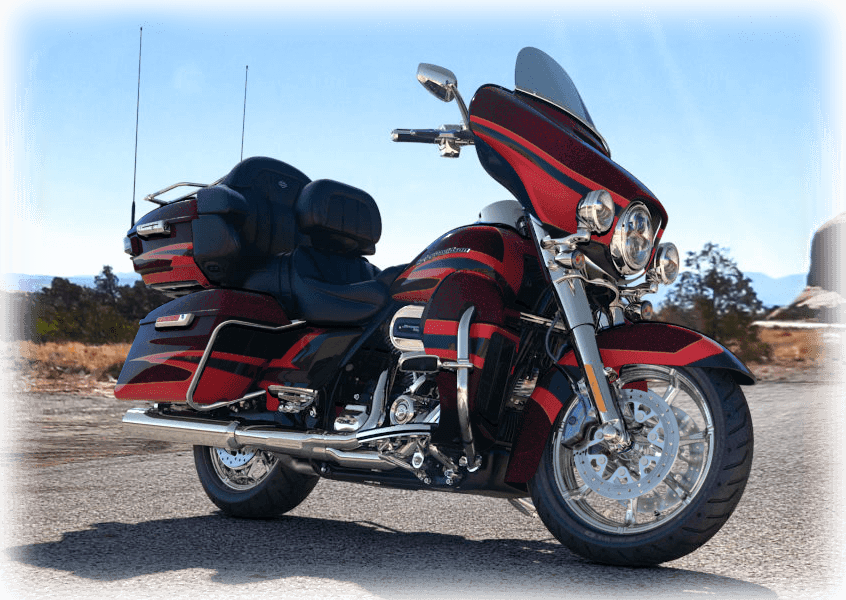 2017 cvo limited red