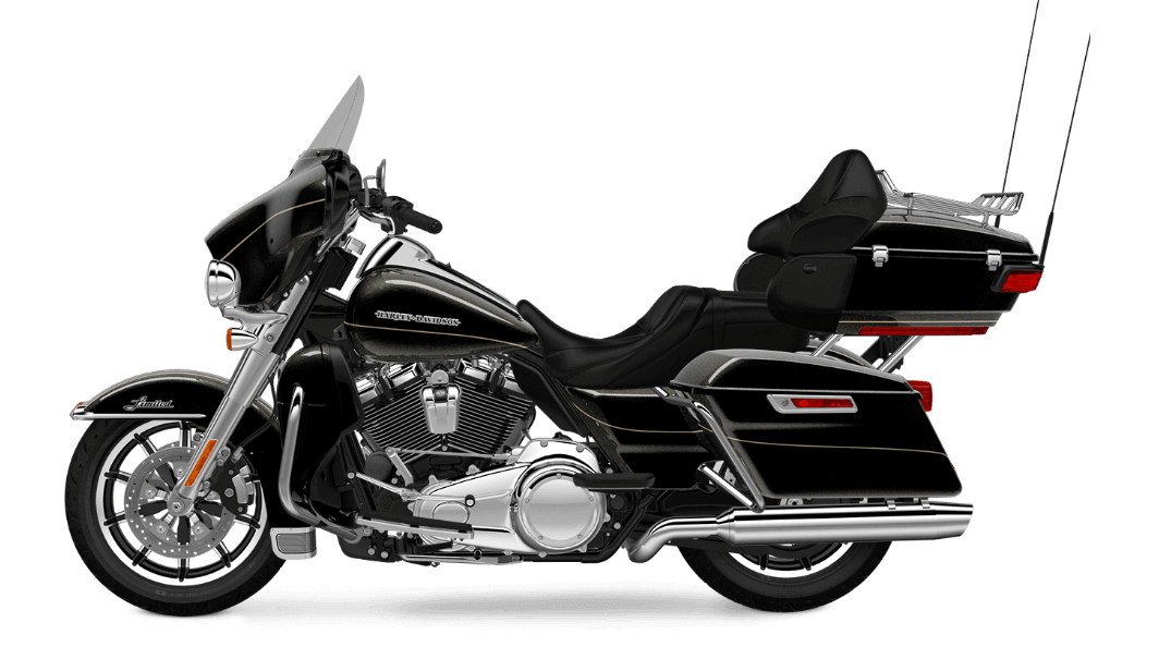 Black Quartz Harley Davidson Ultra Limited