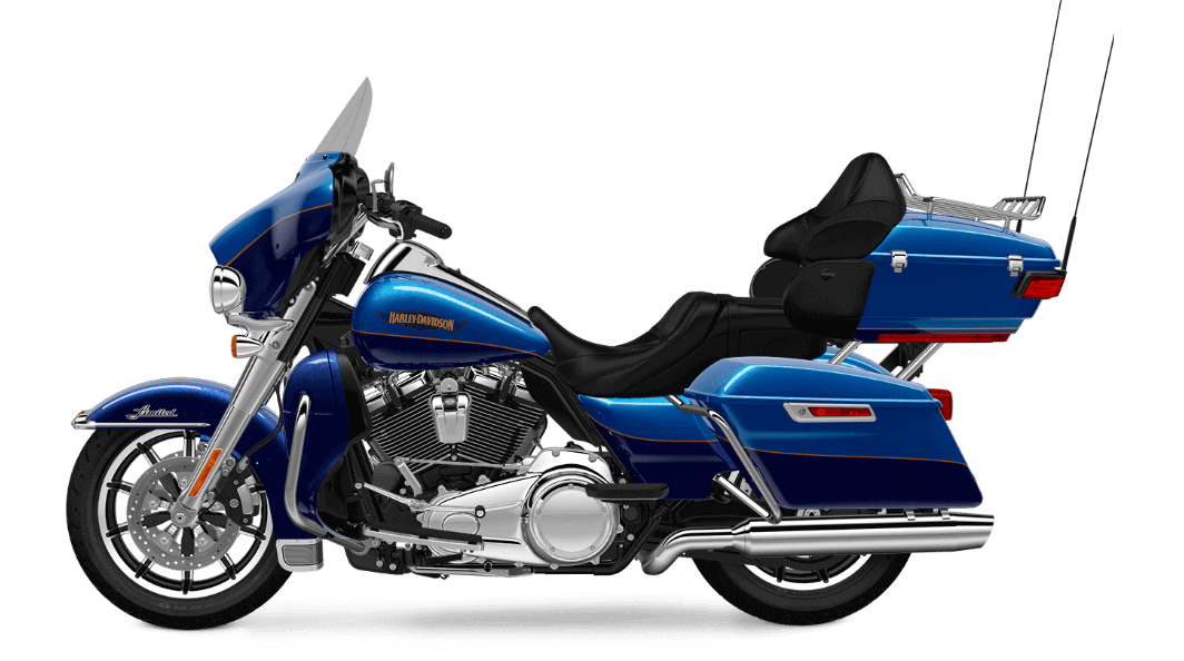 Bonneville Blue Harley Davidson Ultra Limited