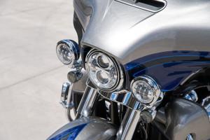 Harley-Davidson CVO Limited headlight