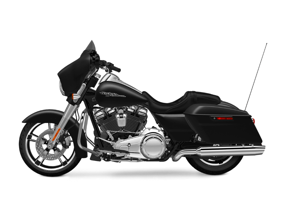 2017 Street Glide Special black denim
