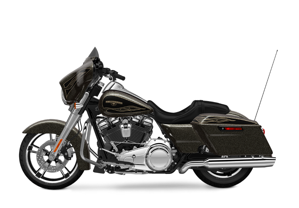 2017 Street Glide Special black gold flake