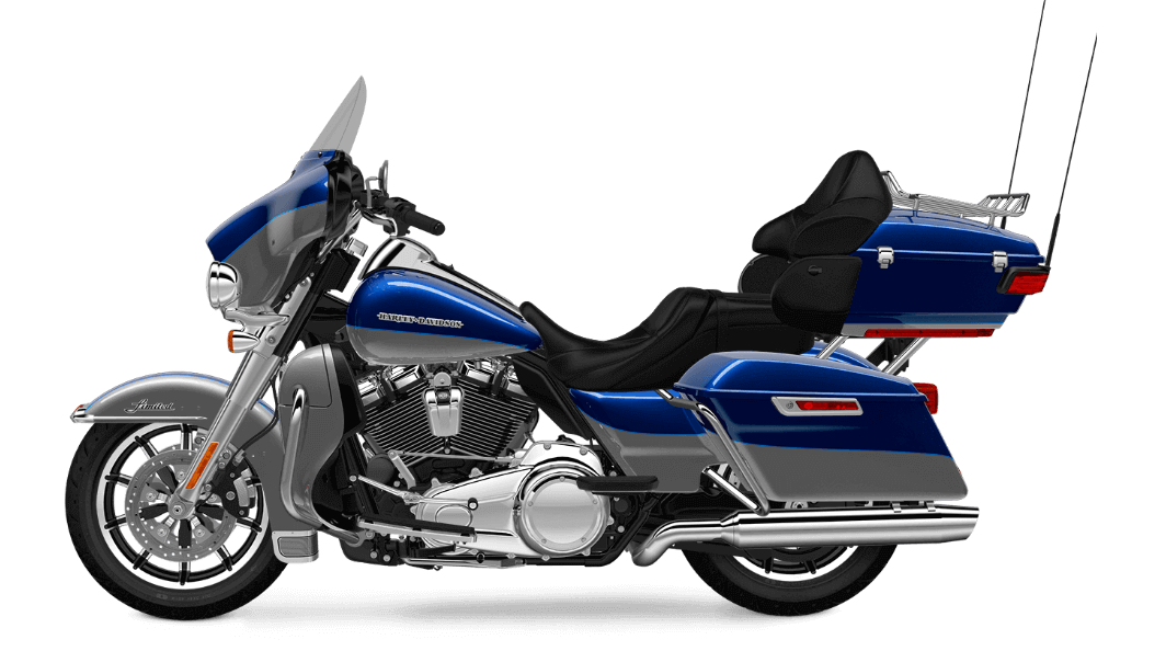 Superior Blue Harley Davidson Ultra Limited