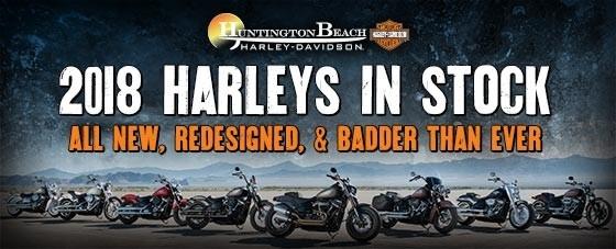 Meet your 2018 Harley lineup   Huntington Beach Harley ...