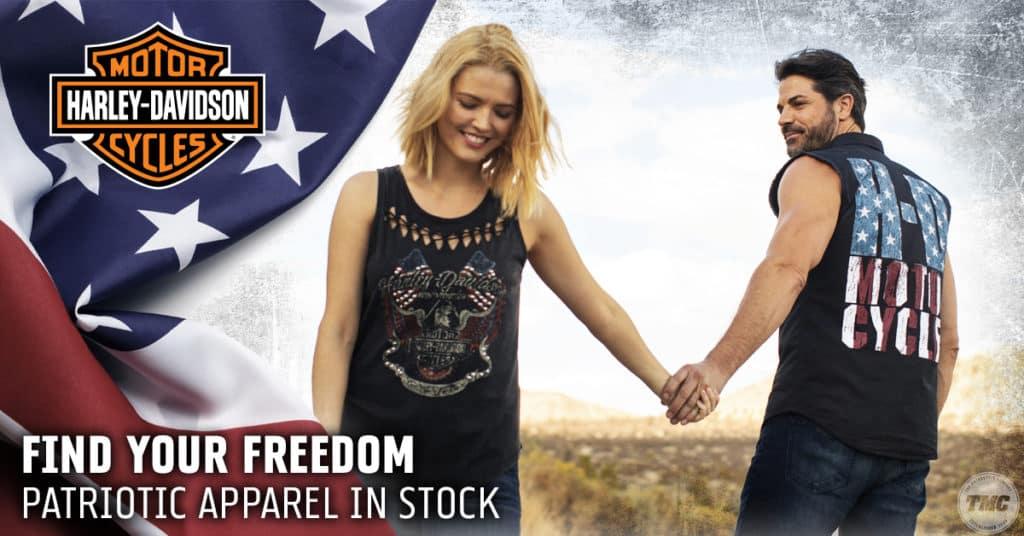 Patriotic Harley Apparel
