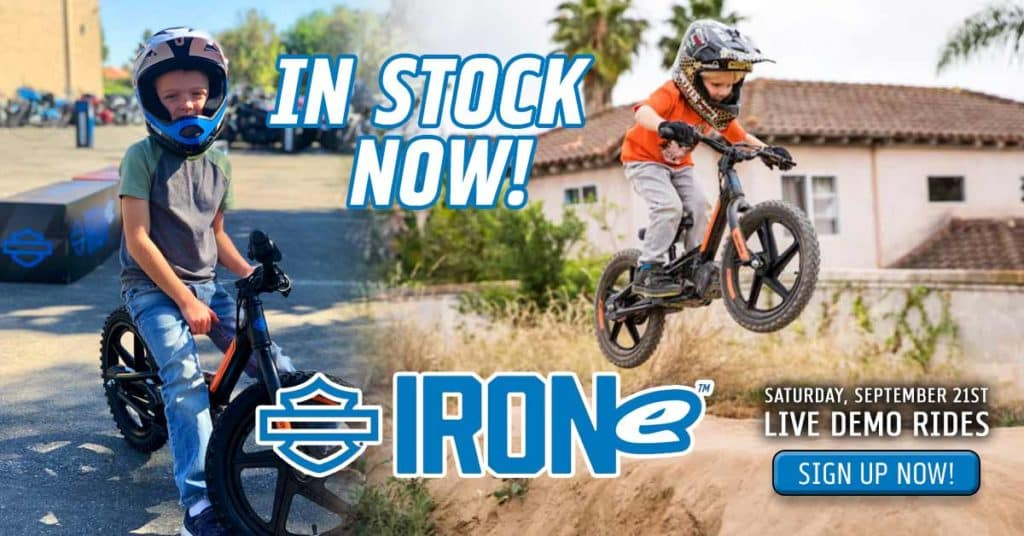 Harley IRONe Demo Day for Kids