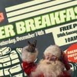 Biker Breakfast With Santa