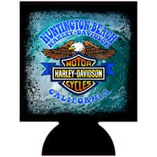 Huntington Beach Harley Koozie