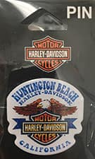 Huntington Beach Harley Pin