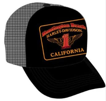 Huntington Beach Harley Ballcap Hat