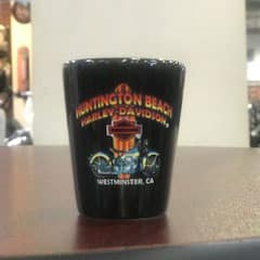 Huntington Beach Harley Shot Glass