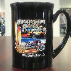 Huntington Beach Harley Coffee Mug