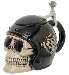 Harley Skull Rider Stein - HDL-18608