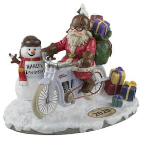 HDX-99181 Harley Santa Figurine