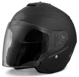 HarleyMaywood Interchangeable Sun Shield 3/4 Helmet # 98303-17VX