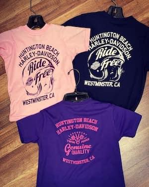 Huntington Beach Harley-Davidson Custom Licensed Merch