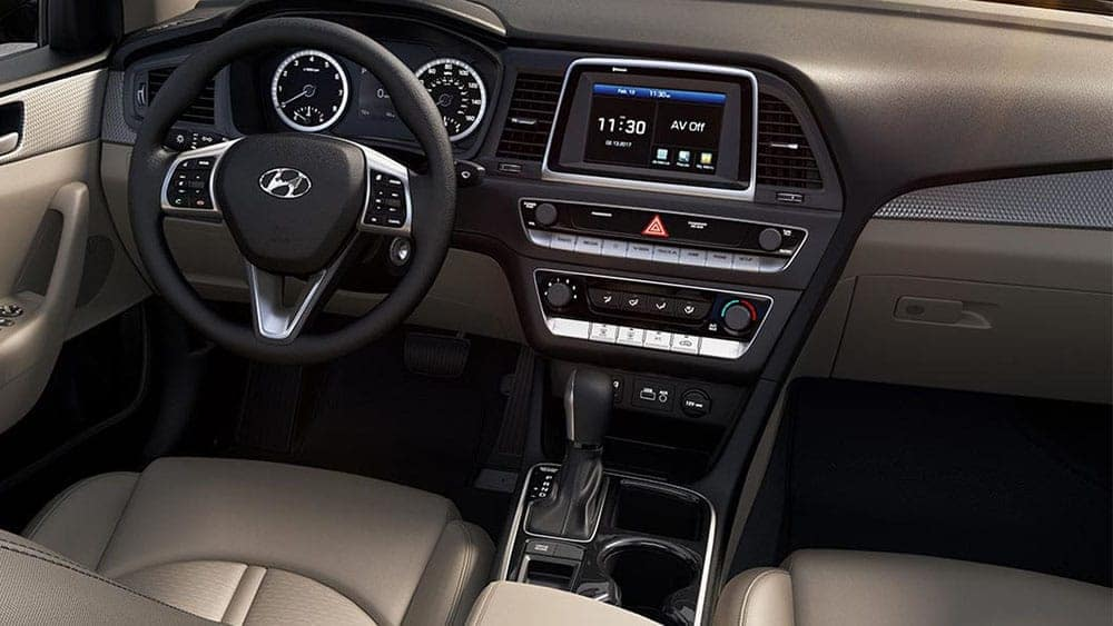 2019 Hyundai Sonata Interior Dashboard