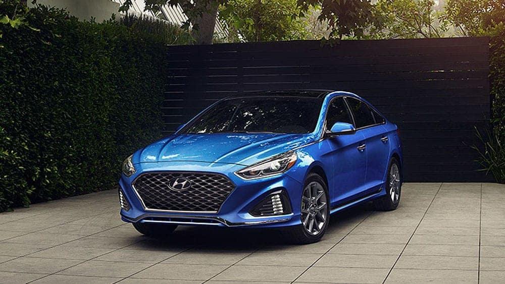2019 Hyundai Sonata Parked