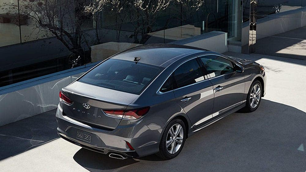 2019 Hyundai Sonata Top View
