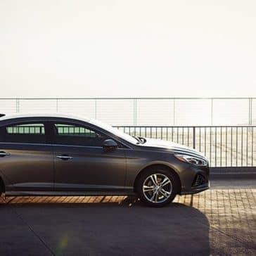 2019 Hyundai Sonata Parked by Water
