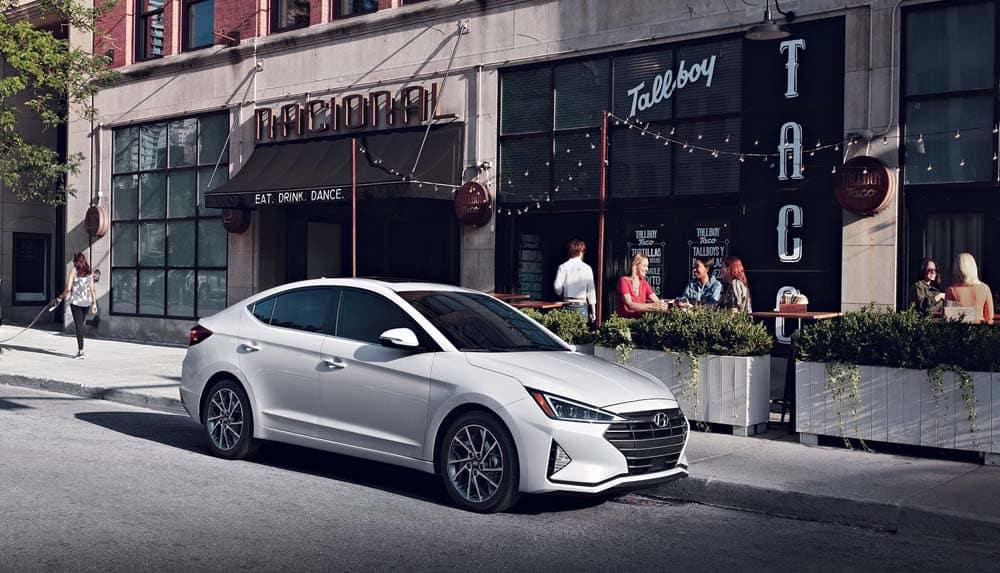 2019 Hyundai Elantra Parked