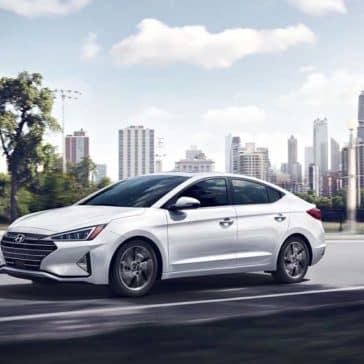2019 Hyundai Elantra Driving