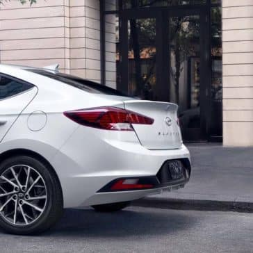 2019 Hyundai Elantra Rear