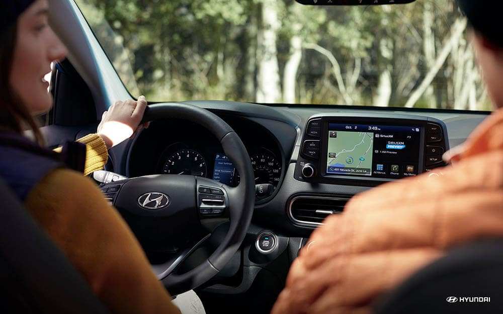 2019 Hyundai Kona interior front
