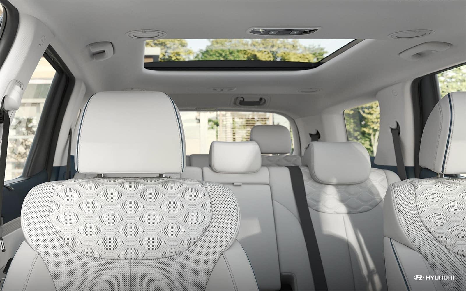 2020 Hyundai Palisade interior seats