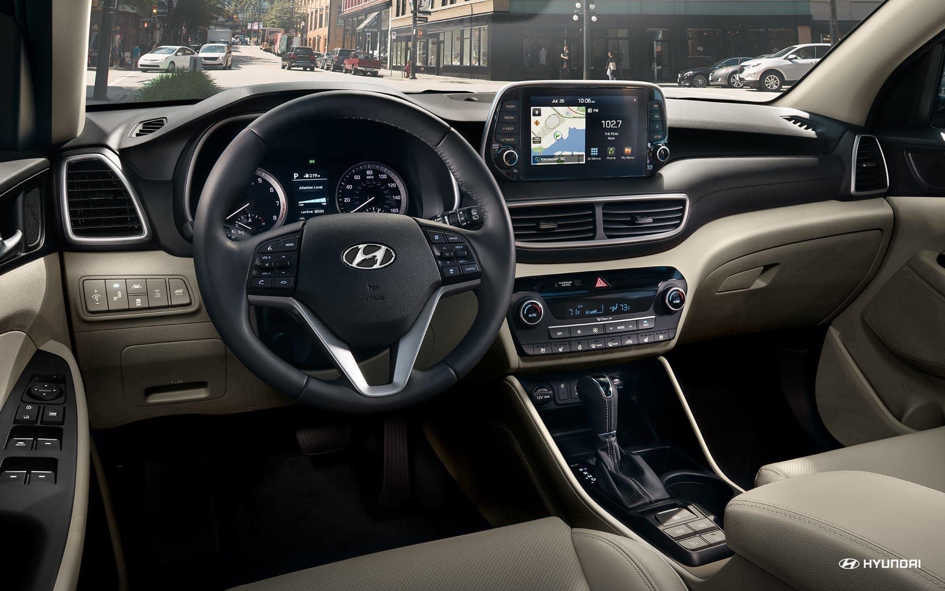 2019 Hyundai Tucson dual automatic temperature control