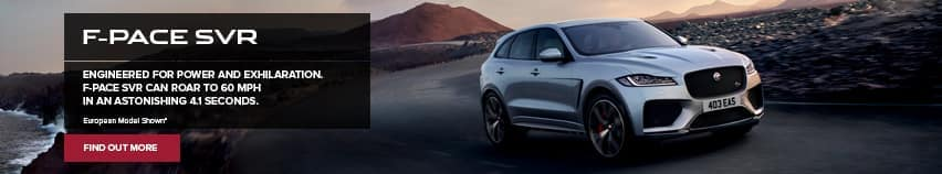 F-Pace SVR Banner