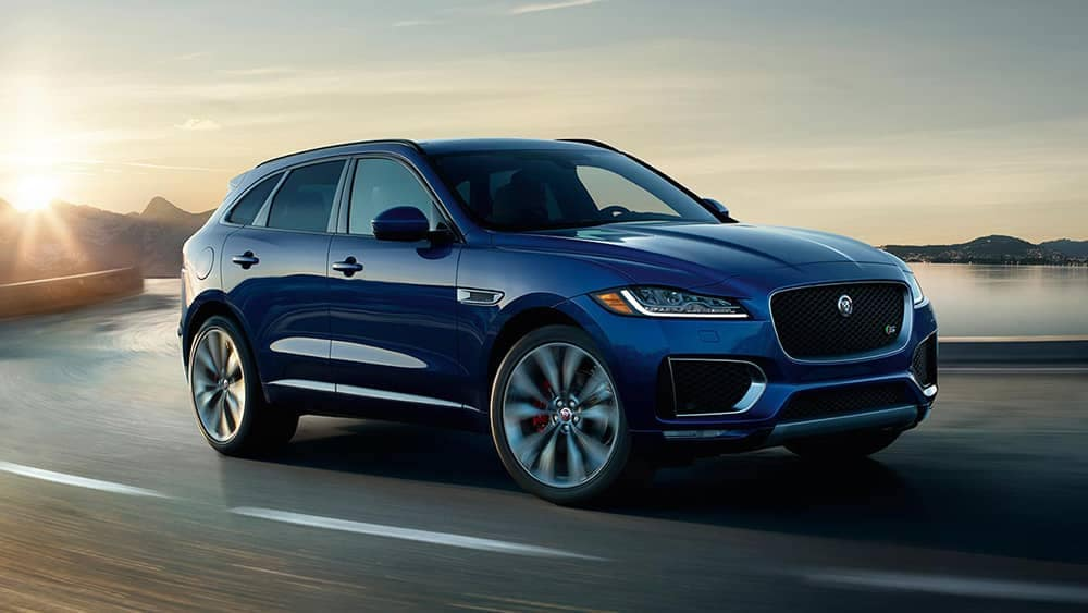 Blue 2019 Jaguar F-PACE
