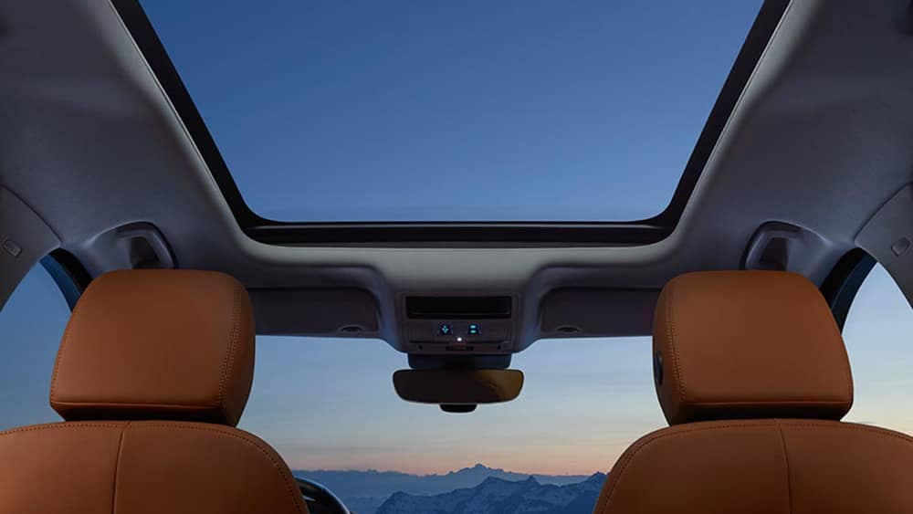 2019 Jaguar F-Pace sunroof